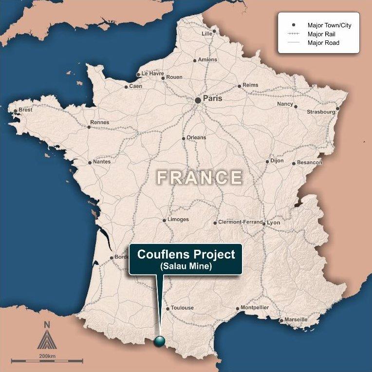 Couflens Project (Salau Mine)