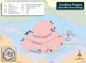Couflens Project - Salau Mine Area Geology
